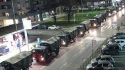 L'esercito porta le bare di Bergamo in altre regioni. Il sindaco:
