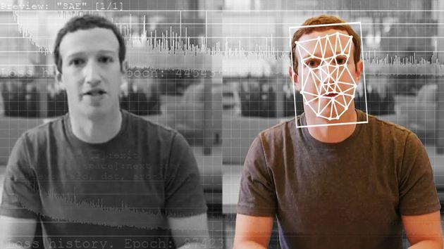ディープフェイクを拡散させていると責任を問われていたFacebook CEOのマーク・ザッカーバーグ氏を題材にして、イギリスのアーティストが制作したザッカーバーグ氏の「ディープフェイク動画」が世界中で話題になった。