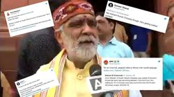 Twitter Has No Patience For MoS Health Ashwini Kumar Choubey's Sunbathing