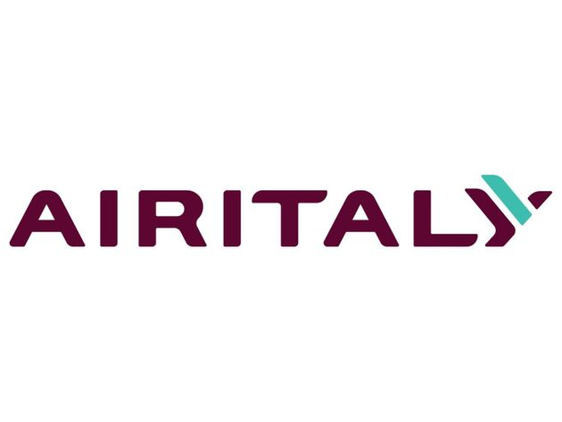 AIRITALY logo, graphic element on