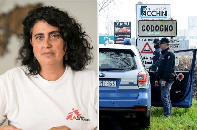 Claudia Lodesani, presidente di Medici Senza Frontiere