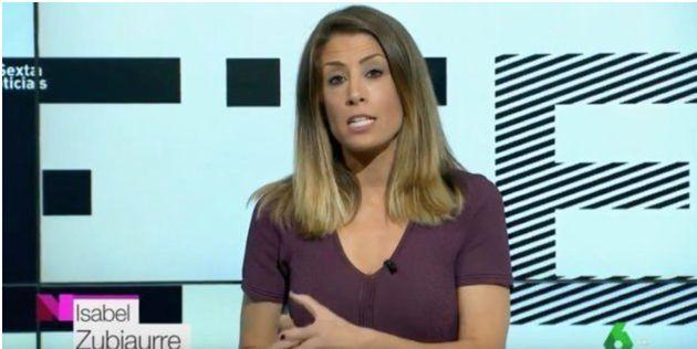 Isabel Zubiaurre, meteoróloga de