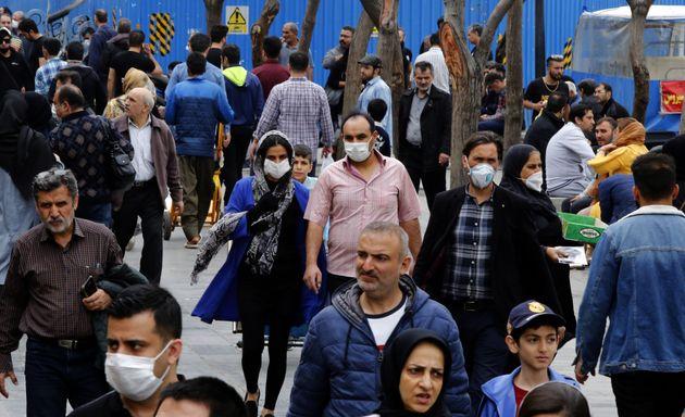 이란의 코로나19 사망자는 1200명을