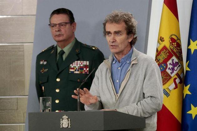 El director del Centro de Coordinación de Alertas y Emergencias Sanitarias del ministerio, Fernando