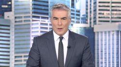 David Cantero hace algo insólito en pleno informativo de Telecinco: el coronavirus tiene la