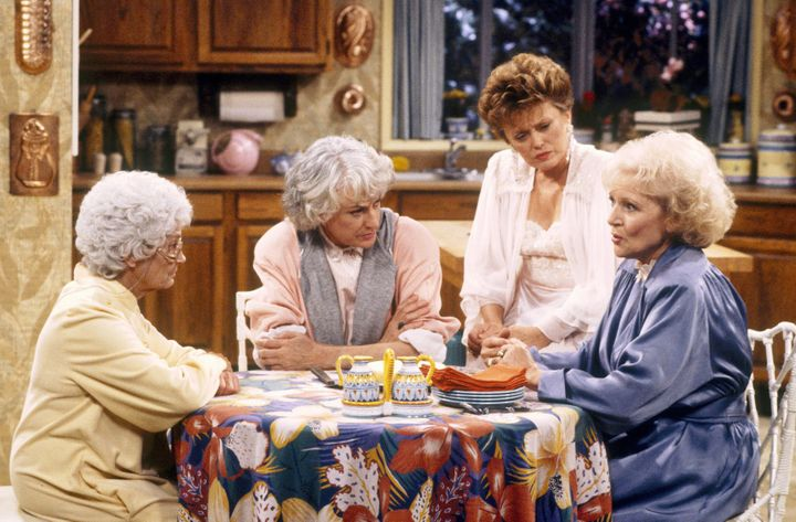 """The cast of """"The Golden Girls"""""""