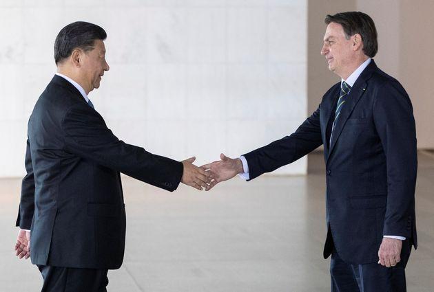 Presidente chinês, Xi Jinping, esteve em Brasília em novembro do ano passado para os