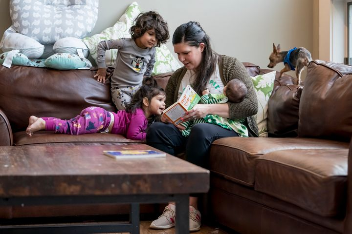 In Missouri, Katie Patel is shortening her maternity leave to go back to work as an urgent care nurse to fill in for a quaran