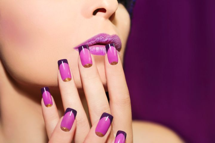 Acrylic nails give germs another place to lurk.