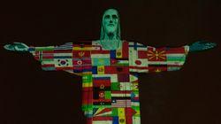 코로나 위기에 브라질 거대 예수상에 나타난 것