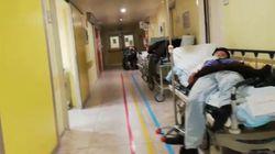 Βίντεο-οδοιπορικό της φρίκης του κορονοϊού σε νοσοκομείο του