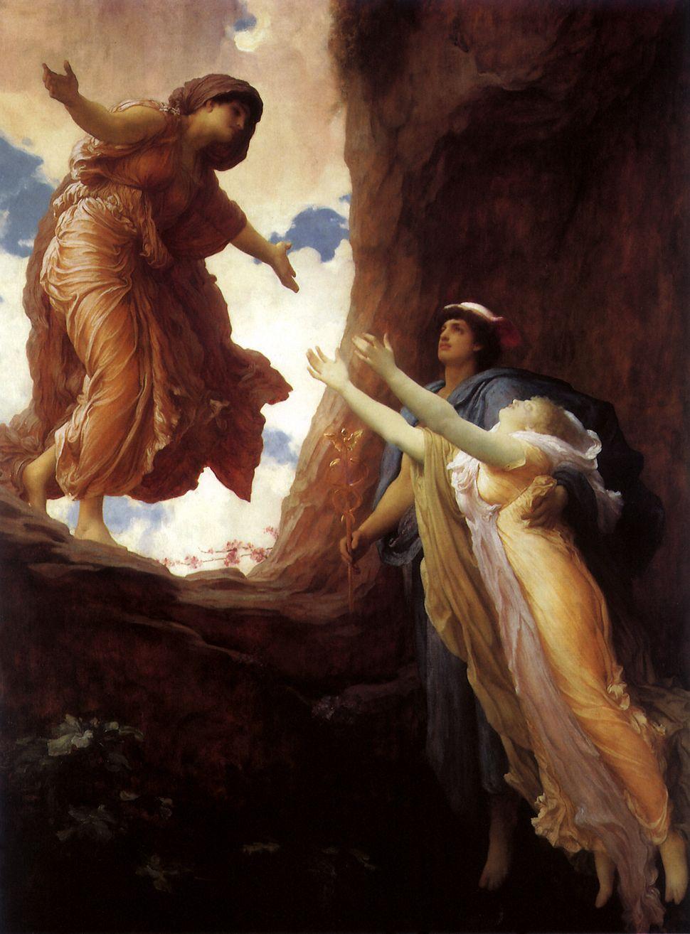 Η επιστροφή της Περσεφόνης, Leighton, Frederic, 1891 . (Photo by: Picturenow/Universal Images Group via Getty Images)