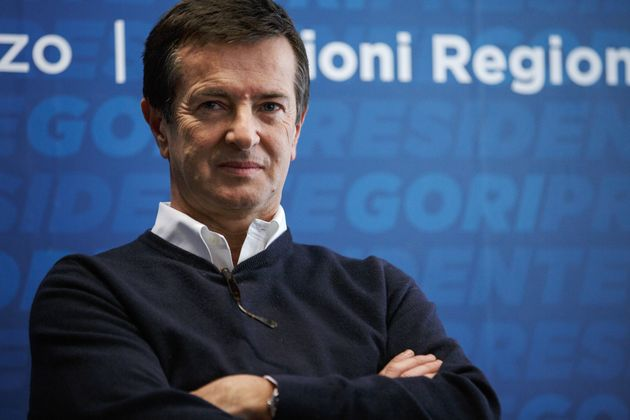 MILAN, ITALY - JANUARY 21 Giorgio Gori attends the opening of the headquarter of his political campaign...