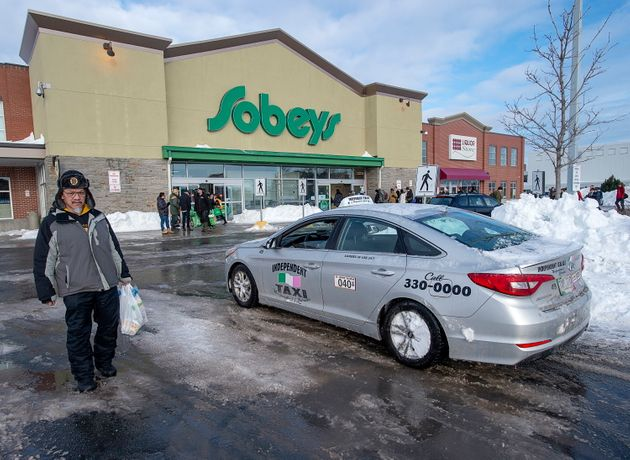 A Sobeys grocery store is seen here in St. John's on Jan. 21. The chain says it is introducing new measures...