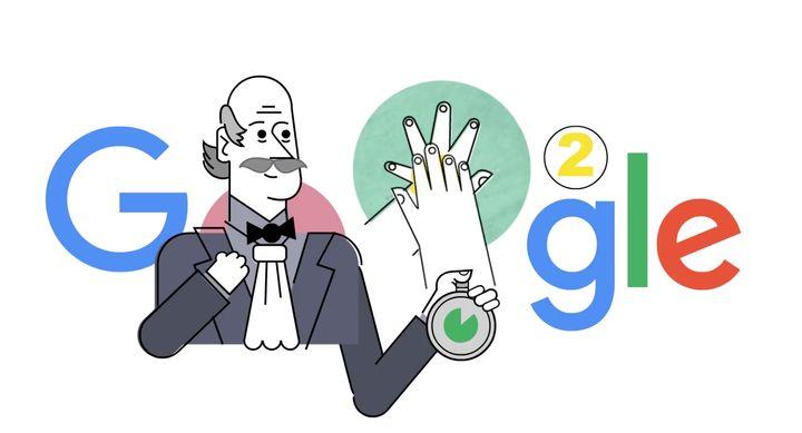 Coronavirus: Google rend hommage à l'homme qui a démocratisé le lavage de mainus: