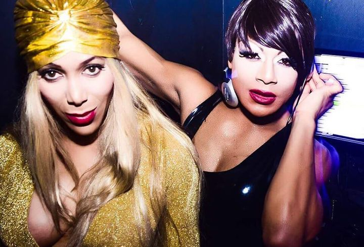 (L-R) Mzz Kimberly and Raven Mandella