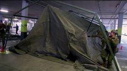 El Ejército instala un hospital de campaña en