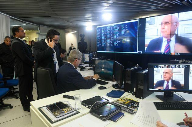 Senador Antonio Anastasia (PSDB/MG) comanda sessão de votação do decreto de calamidade pública no