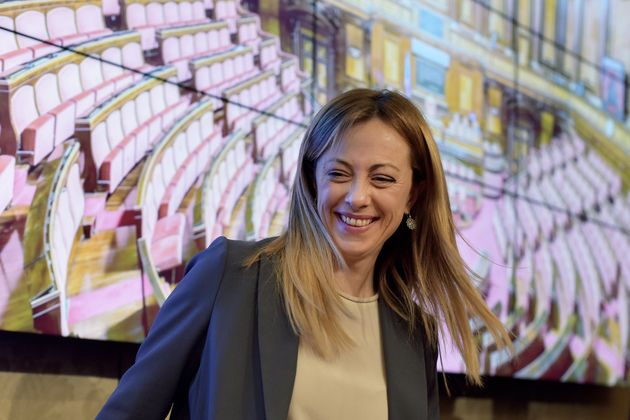 ROME, ITALY - MARCH 6:Giorgia Meloni,leader of