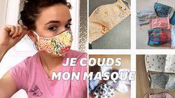 Comment réaliser un masque en tissu