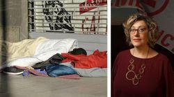 Emergency a Milano per senzatetto e migranti.