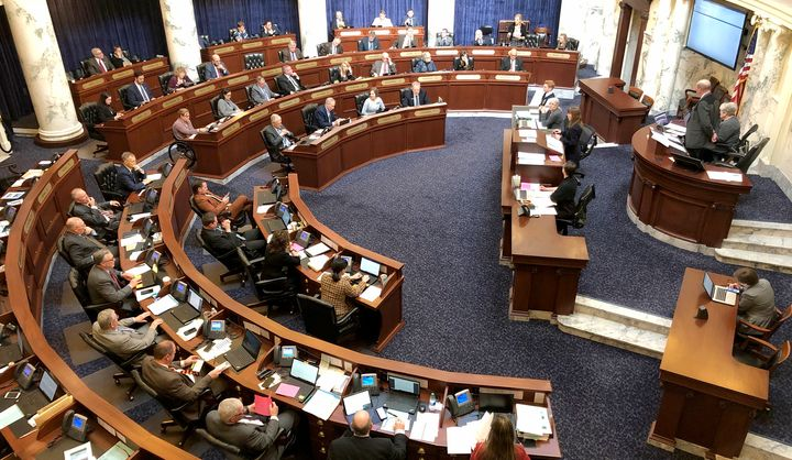 The Idaho House passed two anti-transgender bills before ending its session early because of the coronavirus.