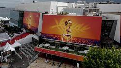 À Cannes, le Palais des festivals a été transformé en centre d'accueil pour