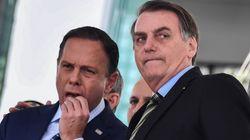 Em meio à pandemia de coronavírus, Bolsonaro, Doria e Witzel alimentam jogo