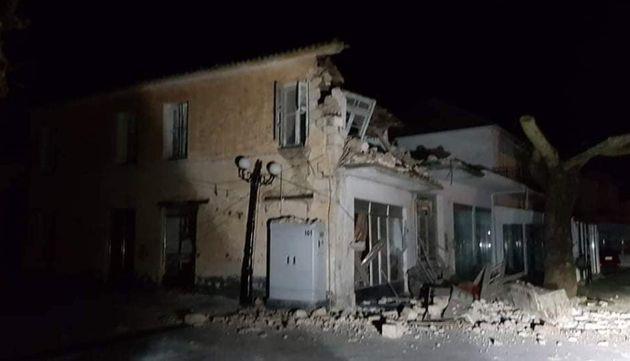 Ζημιές σε παλιά σπίτια στο Καναλλάκι