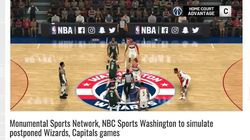 """新型コロナで中断のNBA、八村塁が所属するウィザーズが""""試合再開""""...?⇒ビデオゲームで模擬試合、テレビ放送へ"""