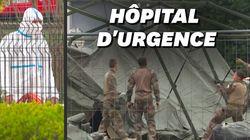L'hôpital de campagne militaire se déploie à