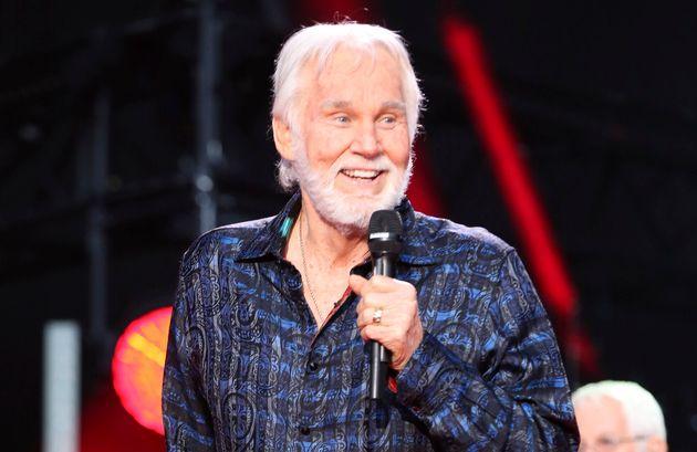 Kenny Rogers au CMA Music Festival à Nashville, 8 juin