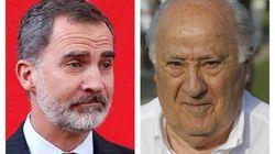El rey Felipe telefonea a Amancio Ortega para agradecerle las donaciones para el