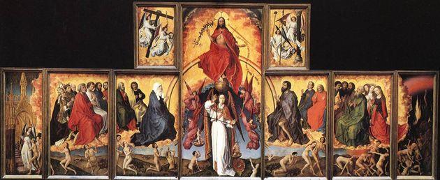 .Rogier van der Weyden,Le Jugement dernierΗΏρατηςΚρίσεως,πολύπτυχο,...