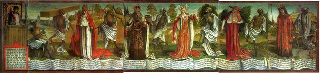 Ο θάνατος δεν κάνει διακρίσεις. Σύνηθες θέμα του Μεσαίωνα - Danse Macabre in