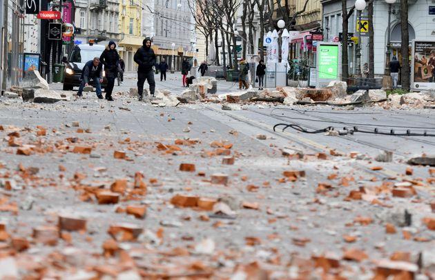 Σεισμός 5,3 Ρίχτερ στην Κροατία - Τραυματίες και