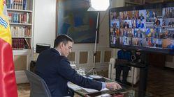 Sánchez admite a los presidentes de las CCAA el retraso en el material y da por perdidos los
