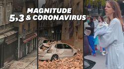 Un séisme frappe Zagreb et fait d'importants
