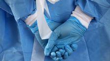 Υγειονομική Περίθαλψη Των Εργαζομένων Παλεύουν Με Την Έλλειψη Προστατευτικό Εξοπλισμό