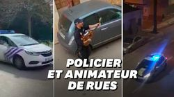 Ces policiers belges, espagnols et français tentent de redonner le sourire aux