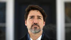 COVID-19: Trudeau demande aux Canadiens de «rester chez eux» ou dehors à