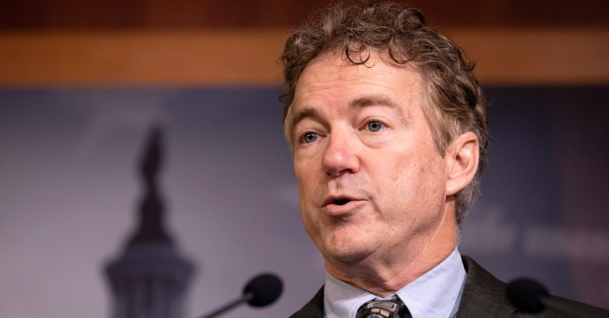 Rand Paul Becomes First Senator Known To Test Positive For Coronavirus