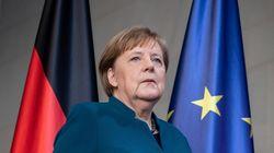 Angela Merkel è in
