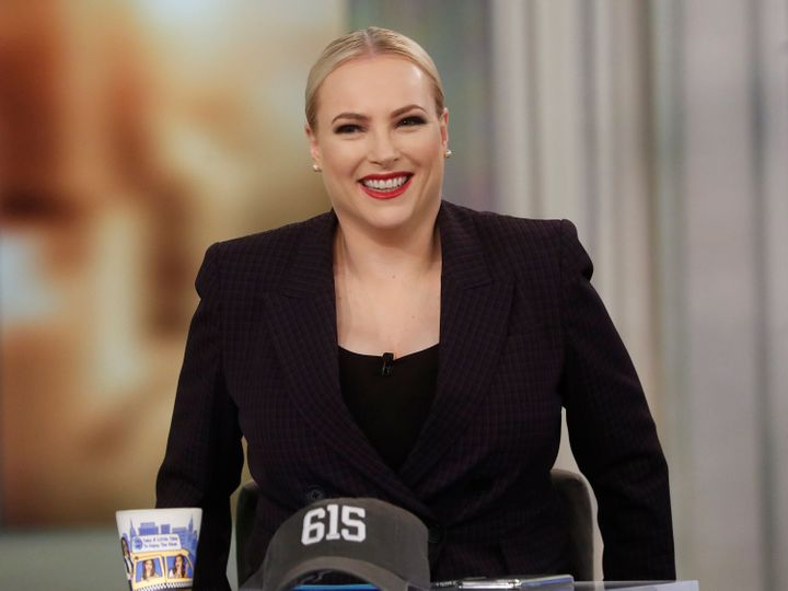"""Meghan Mccain, a co-host on the talk show """"The View,"""" has announced that she's pregnant and will self-quarantine out of an ab"""