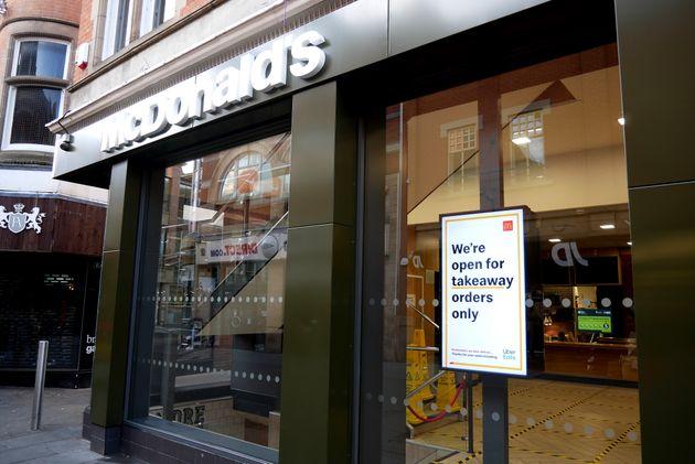 Coronavirus: All McDonalds Restaurants To Close In The UK And Ireland