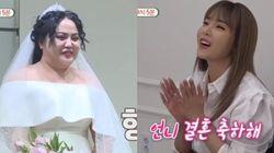 가수 홍진영 측이 언니 홍선영 결혼설에 대해 밝힌