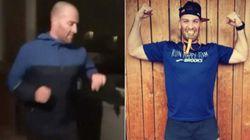ベランダで男性がマラソン完走 新型コロナで外出制限のフランスで