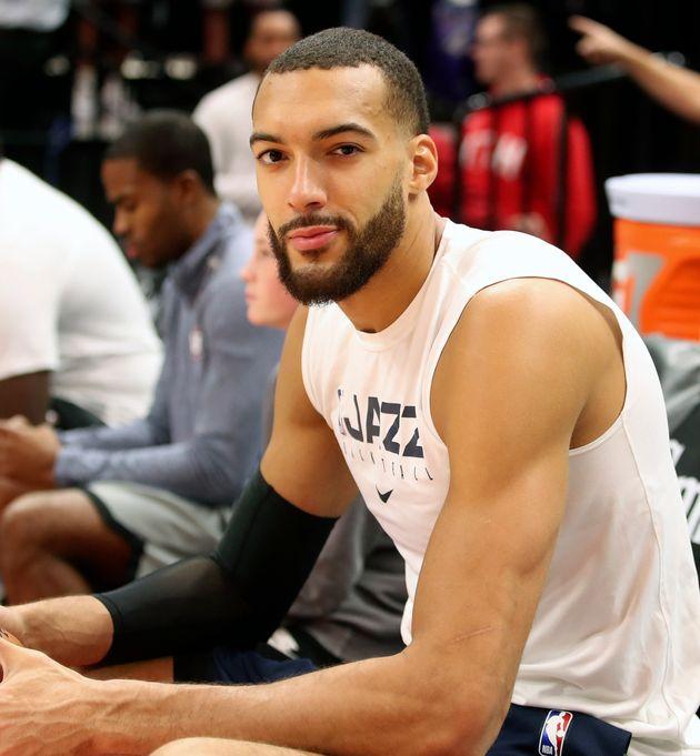 Le joueur français de la NBA Rudy