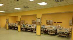 Apre le porte il reparto di terapia intensiva del San Raffaele, nato dalla campagna dei