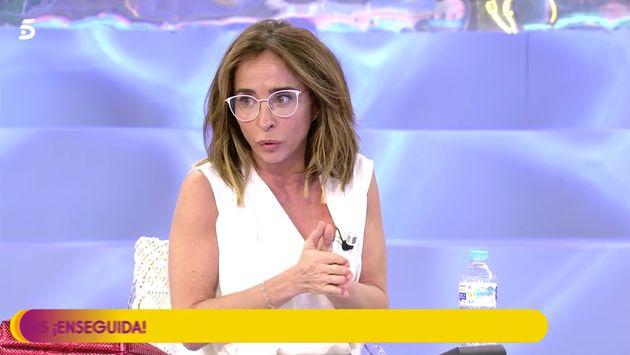 María Patiño, el 19 de marzo de 2020 en